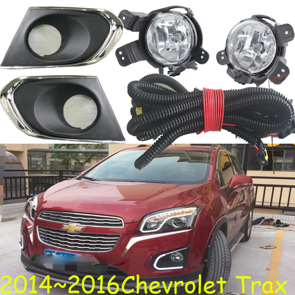 One set car bumper lamp for Chevrolet Trax fog light 2014 2015 2016year halogen 4300K car Accessories Trax headlightOne set car bumper lamp for Chevrolet Trax fog light 2014 2015 2016year halogen 4300K car Accessories Trax headlight