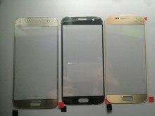 10 cái/lốc Ban Đầu MÀN HÌNH LCD Thay Thế Trước Màn Hình Cảm Ứng Kính Cường Lực Bên Ngoài Ống Kính Dành Cho Samsung Galaxy Samsung Galaxy S6 G920/S7 G930 Cao chất lượng