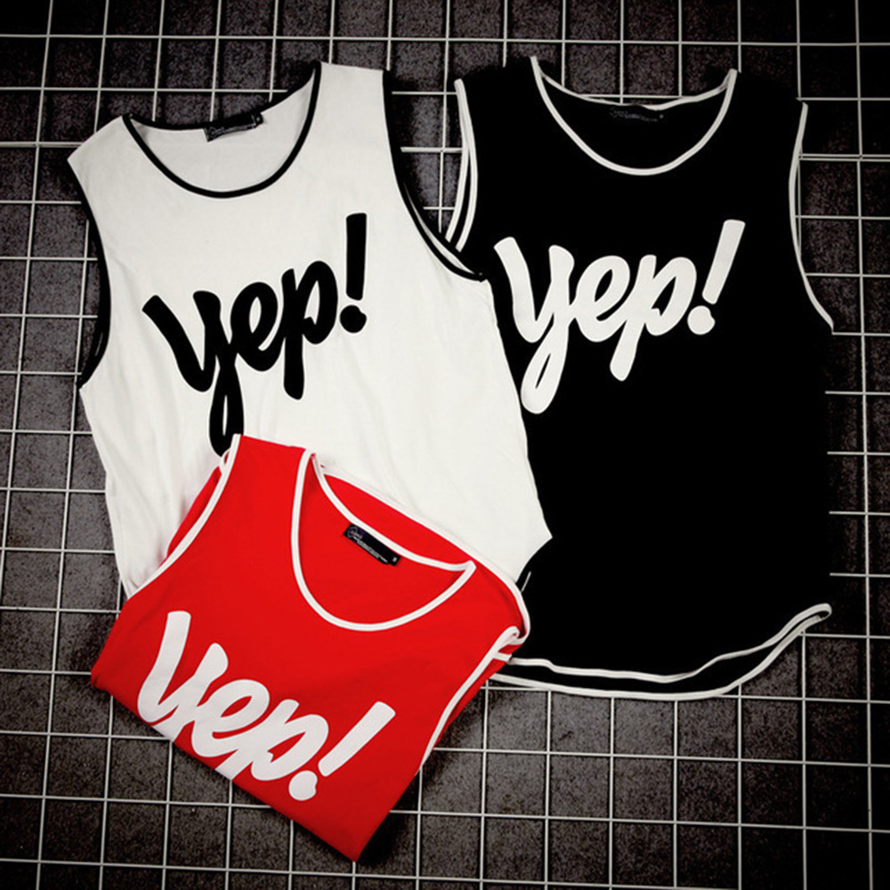 AudWhale Men Gym Vest Casual Printed   Tank     Top   Men O-Neck Mens   Tank     Top   Sleeveless Shirt Bodybuilding Men's   Tops