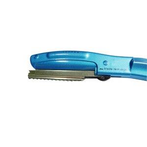 Image 5 - LilyandTiger ultrasonik sıcak titreşimli Razor saç kesme bölünmüş uç saç düzeltici ısı saç makas düzelticiler L 538