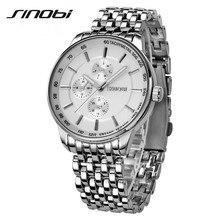 SINOBI Watch Men Quartz-Watch Luxury Men's Watch Waterproof Clock Men Wrist watches Relogio Masculino Fashion reloj hombre F99