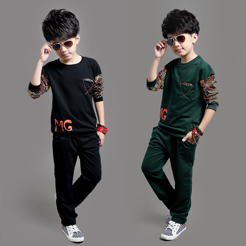 2017 New Spring Autumn Kids Clothes Sets Children Casual 2
