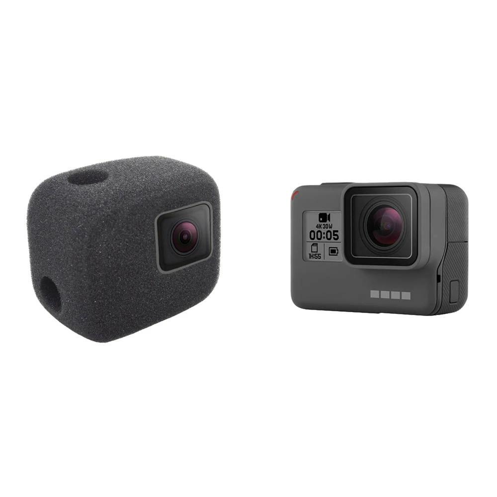 2pack Noise-reducing Foam Sponge Windproof casing for GoPro Hero 5 6 7 Black Camera FitHom Foam Windshield reducing Wind Noise for Optimal Recording