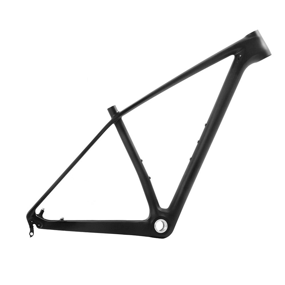 Toray Carbon 29ER Mountain Bike 3K Matt BSA MTB Frame 17.5