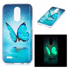 For LG K10 2017 5.3 Silicon Case Animal Anime Luminous Silicone TPU Skin Soft Back Cover Case for LG K10 2017 M250N M250 X400 for lg k10 2017 american unicorn pattern soft tpu phone case