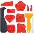 Набор инструментов для чеканки  12 штук  силиконовый герметик  Отделочный Инструмент  скребок для заточки  средство для удаления чеканки  нас...