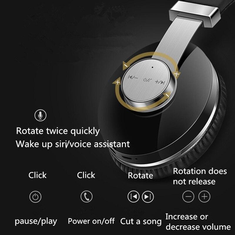 T9 Bluetooth casque actif suppression de bruit stéréo Subwoofer barre de son casque de jeu écouteur pour téléphone portable ordinateur tv - 3