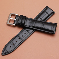 Wholsale Watchband askı pin toka 19mm 20mm 21mm 22mm İzle Bilezikler yüksek kaliteli dana deri hakiki İzle Aksesuarları