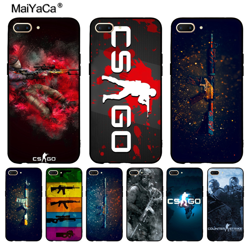 Phone Bags & Cases Obedient Maiyaca Cs Go Gun Game Blacksilicone Soft Phone Case For Oppo R9s R11 R9 R15 Casefor Vivo X9splus X20plus Case Commodities Are Available Without Restriction