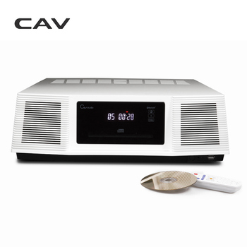CAV IH-30 Bluetooth Speaker CD MP3 Radio Player USB Dock Black White 2.0 Channel Home Use Classic Bluetooth Speaker Combination