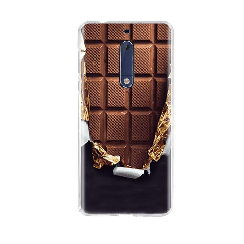 لنوكيا 5 3 6 8 حالة 3D نمط ل Nokia5 Nokia3 Nokia6 Nokia8 حالة الغطاء الخلفي لينة TPU سيليكون ل نوكيا 3 5 6 8 جراب هاتف