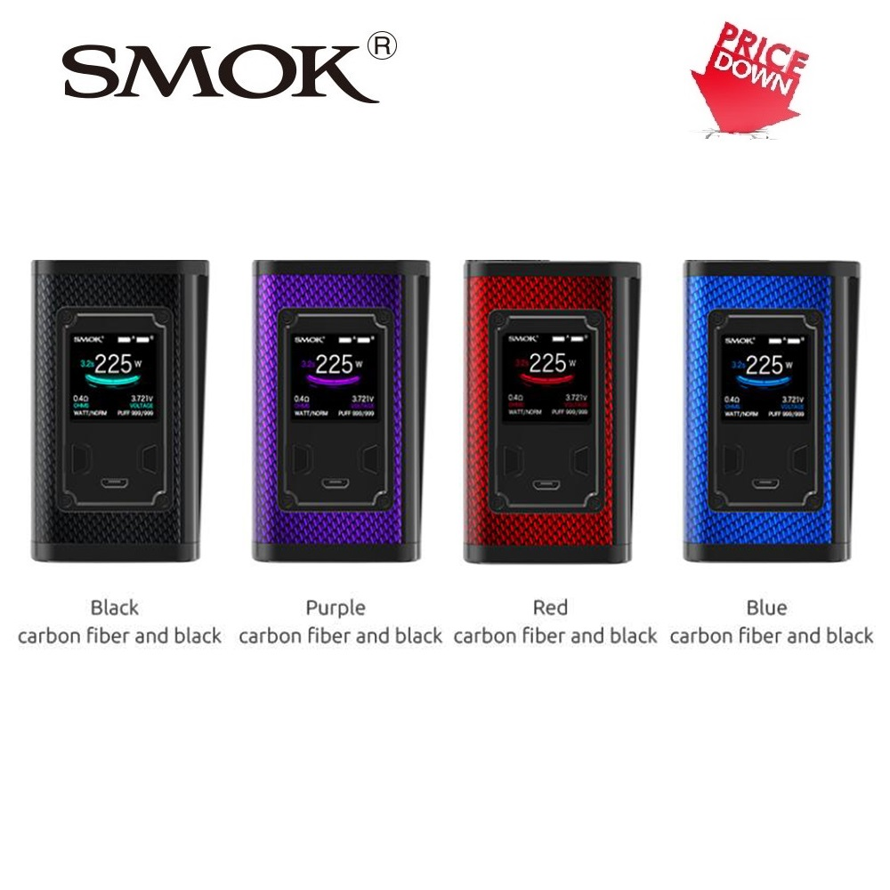 Dégagement SMOK majesté 225 W TC Box MOD w/225 W Max No 18650 batterie Cigarette électronique SMOK majesté Mod vs glisser 2/ijoy shogun