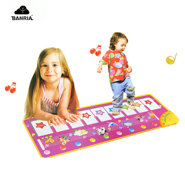 Musical Dance Mat Baby Carpet Children Educational Babe Infant Piano Electronic Music Playmat Blanket For Kids