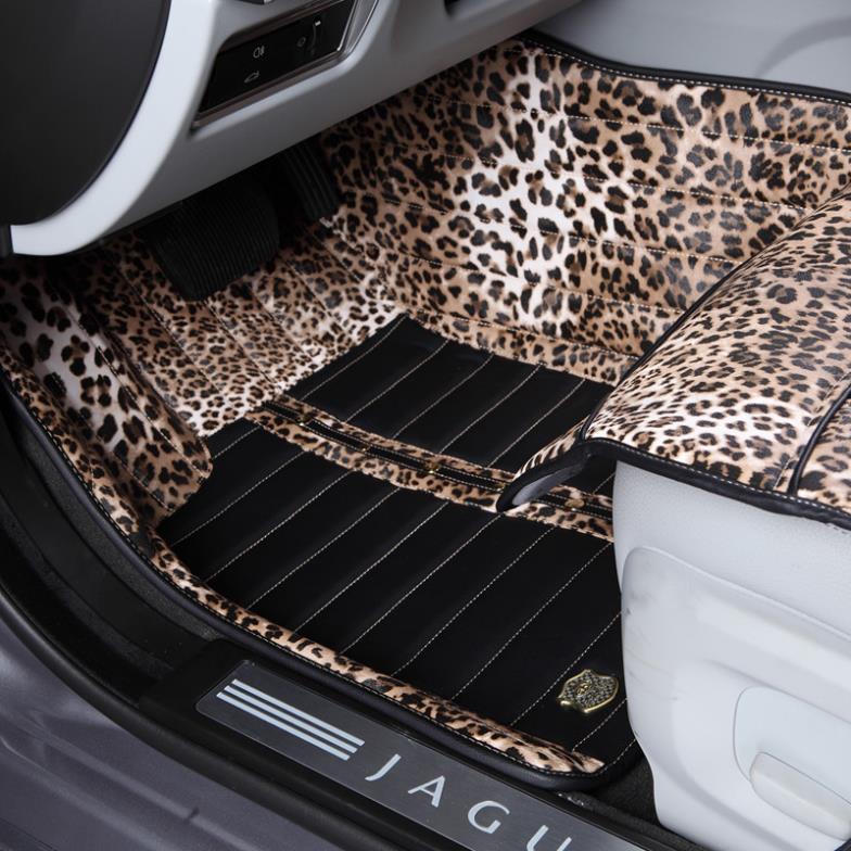 Floor Mats 3d Crocodile Pattern Car Floor Mats Front & Rear For Honda Accord 2008-2012 Waterproof Car-styling Carpet Rugs Floor Liners