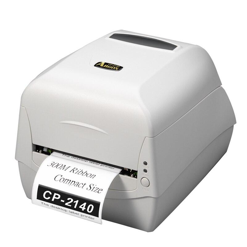 Argox CP-2140M104mm Barcode Label Transfer Aufkleber Weiß Drucker Druck Maschine für Schmuck Label und Preis Tag auf T-shirt