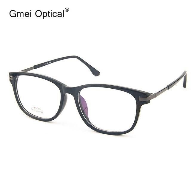 Gmei Оптический JB8756 Ацетат Полный Обода Кадров Очки для Мужчин и Женщин Очки Мода Очки