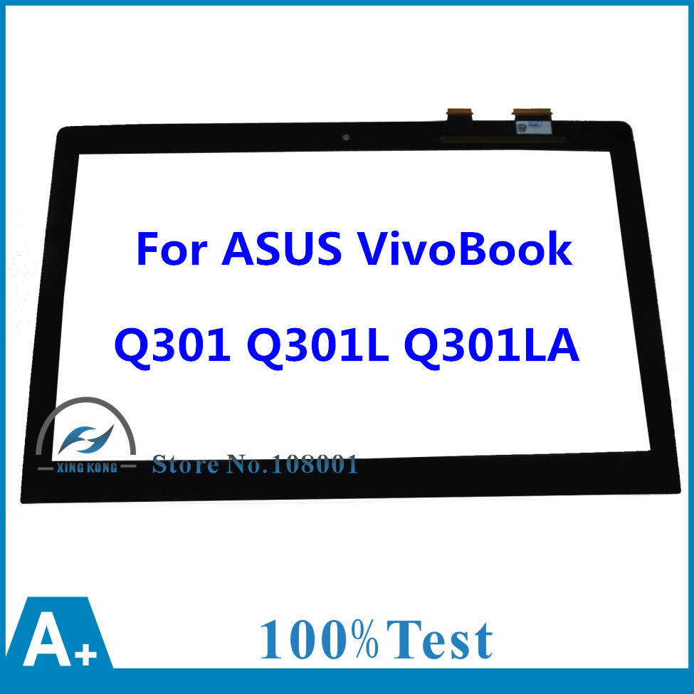 100% Brand New 13.3 For ASUS Transformer VivoBook Q301 Q301L Q301LA-BSI5T17 Touch Screen Digitizer Glass Lens Panel Replacement bort bsi 190s