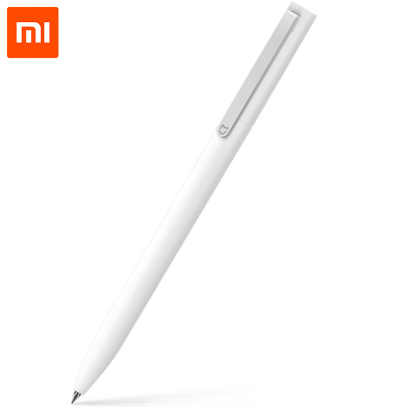 100% Original Xiaomi Mijia Sign Pen 9.5mm Durable Signing Pen Premec Smooth Switzerland Refill MiKuni Japan Ink original xiaomi mijia sign 9 5mm signing premec smooth switzerland refill mikuni japan ink add mijia black refill