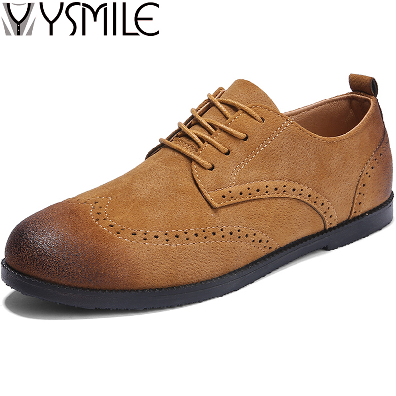 2018 New Fashion Men Leather Casual Shoes Sneakers Soft Male Brogue Shoes Designer Flats Spring Autumn Leather Mens Shoes Dress 2017 new spring imported leather men s shoes white eather shoes breathable sneaker fashion men casual shoes