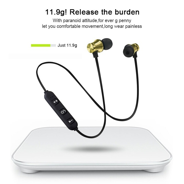 Wireless Headphone Bluetooth Earphone Sport Headset Fone de ouvido For iPhone Samsung Xiaomi Smart Phone Ecouteur Auriculares