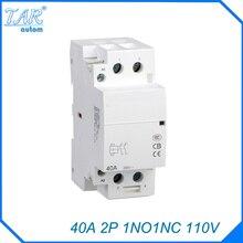 цена на Modular contactor 40A 1NO 1NC 2P 110V mps household contactor