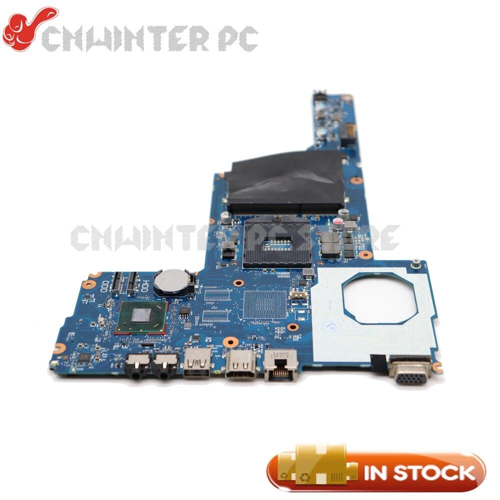 NOKOTION 665107-001 For HP Compaq CQ45 2000 Laptop Motherboard HM76 UMA DDR3 Support I3 I5 I7 685783 001 system board for hp pavilion 2000 1000 450 250 for compaq cq45 motherboard 100