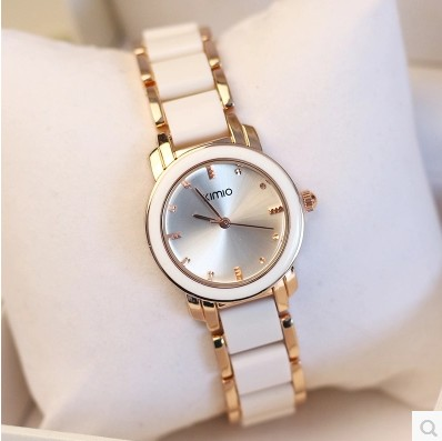 KIMIO Luxury Women Watches Reloj oro Rosa Mujer Montre Etanche Ladies Quartz Watches Women's Bracelet Gift Relogio Feminino 2017 relogio feminino dourado reloj mujer