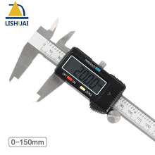 Buy online 150mm/6inch Stainless Steel Digital Caliper/Electronic Vernier Caliper with LCD Screen and Instant Inch-Metric Conversion
