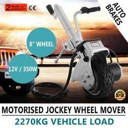 350W Motorised Jockey Wheels 12V Electric Power Mover Caravan Trailer Boat