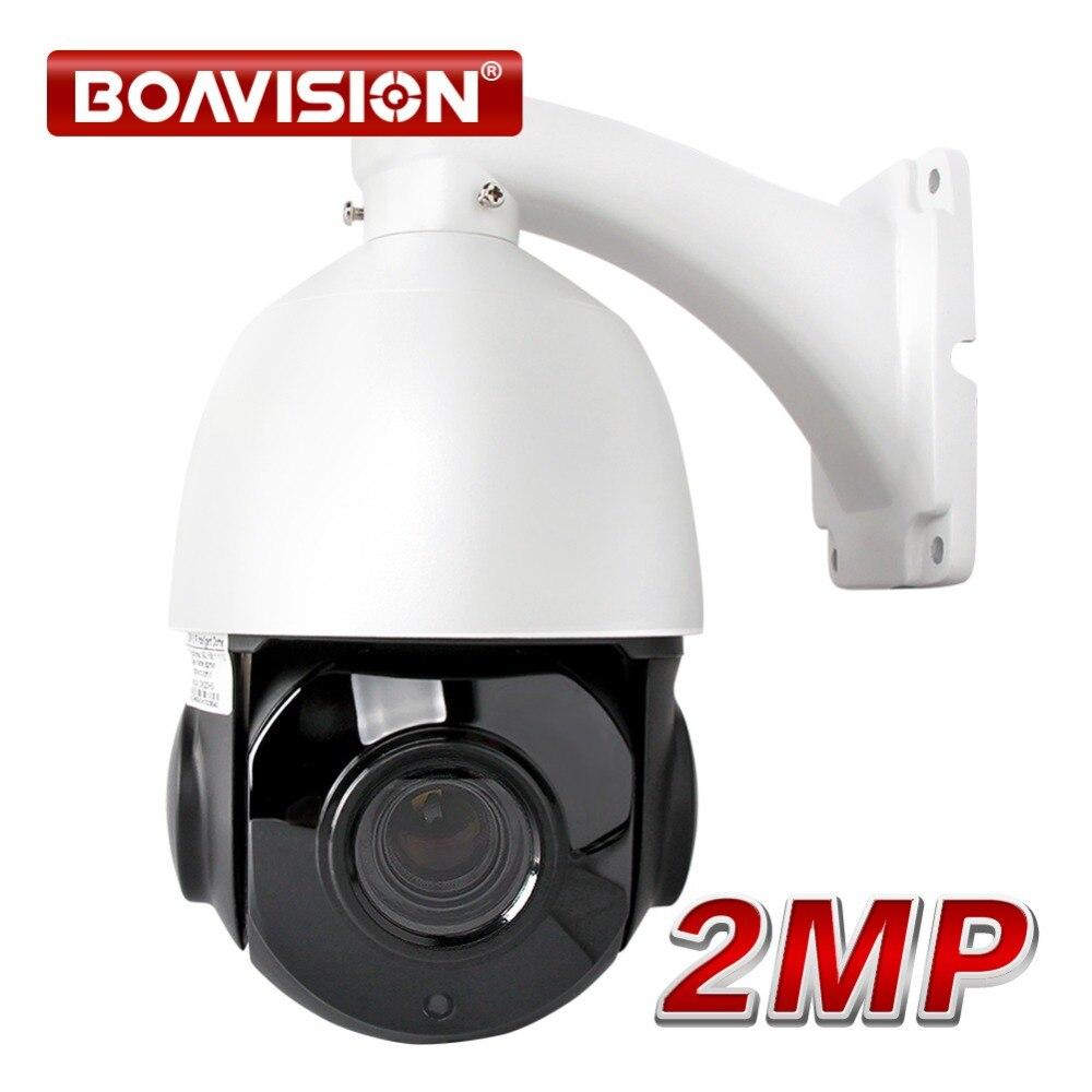 1080P PTZ IP Camera Outdoor Onvif 30X ZOOM Waterproof Mini Speed Dome Camera 2MP H.264 IR-CUT IR 50M P2P CCTV Security Camera