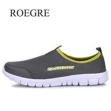 Кроссовки мужские летние туфли 2019 Новые Большие размеры 35-46 удобные мужские сетчатая повседневная обувь дышащие Лоферы обувь на плоской подошве обувь