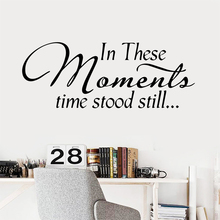 Hot English Sentences Wallpaper Home Decoration Wall Sticker For Living Room Kids Vinyl Art Decal