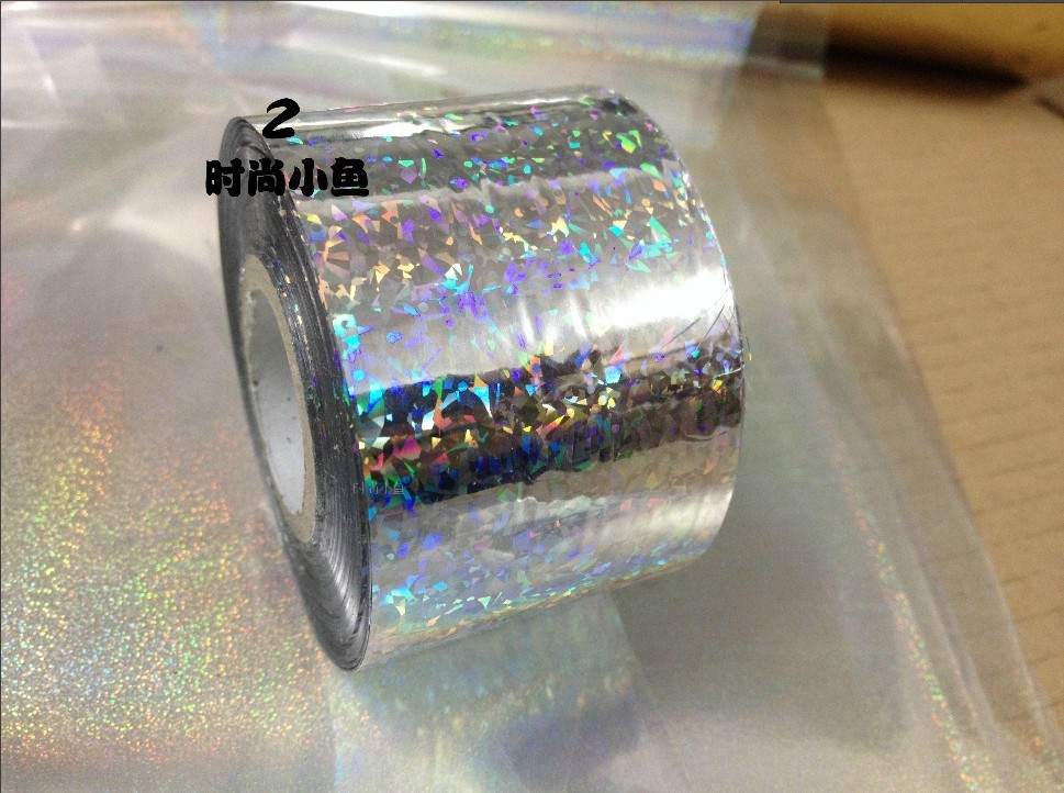 Nail Art Sticker SILVER Holographic effect Nail Transfer Foils Nail Art -Foils Polish Adhesive Wraps,DIY Nail Accessories JH12 рубашка piazza italia piazza italia pi022emaxhj3