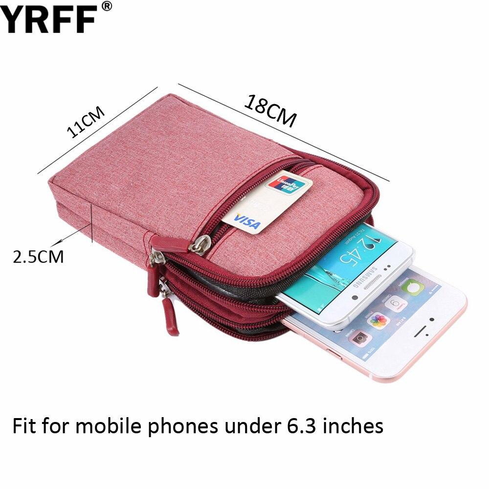 YRFF Koboi Kain Tas Telepon untuk Samsung J5 J7 J3 Untuk huawei p8 - Aksesori dan suku cadang ponsel - Foto 3