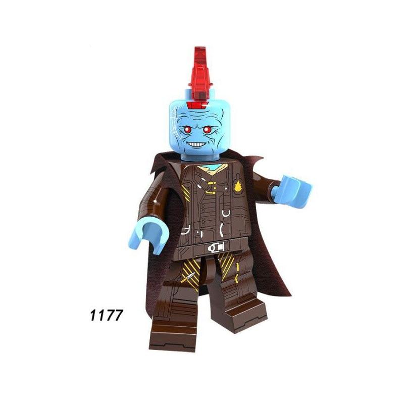 Single Sale Super Heroes Star Wars 1177 Yondu Model Mini Building Blocks Figure Bricks Toys Kids Gifts Compatible Legoed Ninjaed