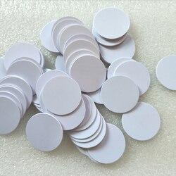 Durchmesser 25mm I-CODE2 Geld Münze Karte I-CODE Münzen Label, ISO15693 Ich CODE2 PVC tags
