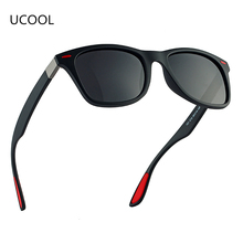 UCOOL DESIGN Men Women Classic Retro Rivet Polarized Sunglasses Gentlemen Outdoor Personality UV400 Protect Wholesale