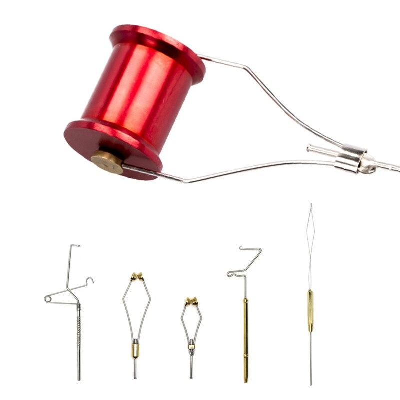 Fly Tying Whip Finisher Fly Tying Bobbin Thread Holder Fishing Bait Making Processing Tools 1 PCS
