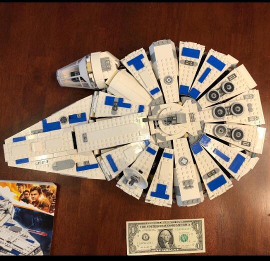 Star Play Wars Solo Story Kessel Run Building Kit Block Toys for Children