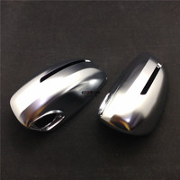 Side Wing ABS Chrome Rearview Rear View Mirror Replacement Cover Trim Shell Case For Audi TT TTS TT RS 8J MK2 2007 2014