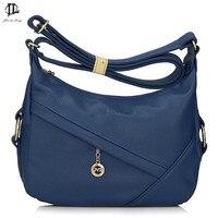 Brand Bag Black Grey Khaki Blue Burgundy Brown Business Women Messenger Bags Front Zipper Pocket Work