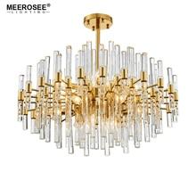 цена 2019 New Arrival Chandelier Lighting Crystal LED Chandelier Light Fixture Golden hanglamp Lustre for Dining Living Room Lamp онлайн в 2017 году
