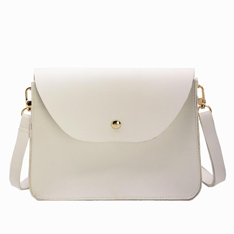5306844ee2 Femmes Sacs Cuir En Noir Messenger Pu Femme vert Main Blanc Designer À  blanc Mode Sac Bandoulière ...