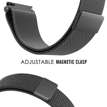 20mm 22mm Metal Milanese Loop Band For Samsung Galaxy Gear S3/Gear Sport Strap For Huami Amazfit Bip/Amazfit 2 Smart Watch Band free delivery 20mm universal silicon watch band for xiaomi huami amazfit bip ticwatch2 gear sport weloop