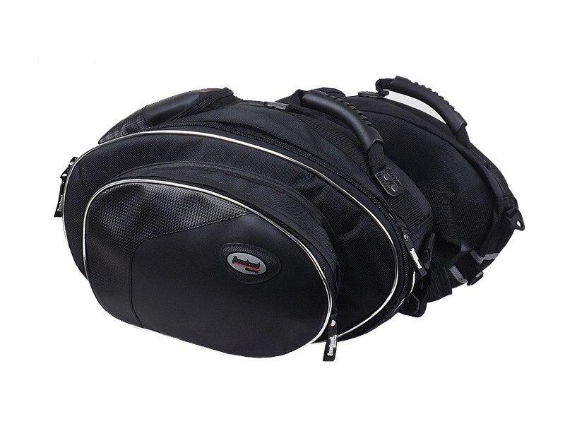 1 set véritable Tanked TMB08 côté bagage moto étanche sacoche sac, sac à dos peut mettre casque intégral livraison gratuite