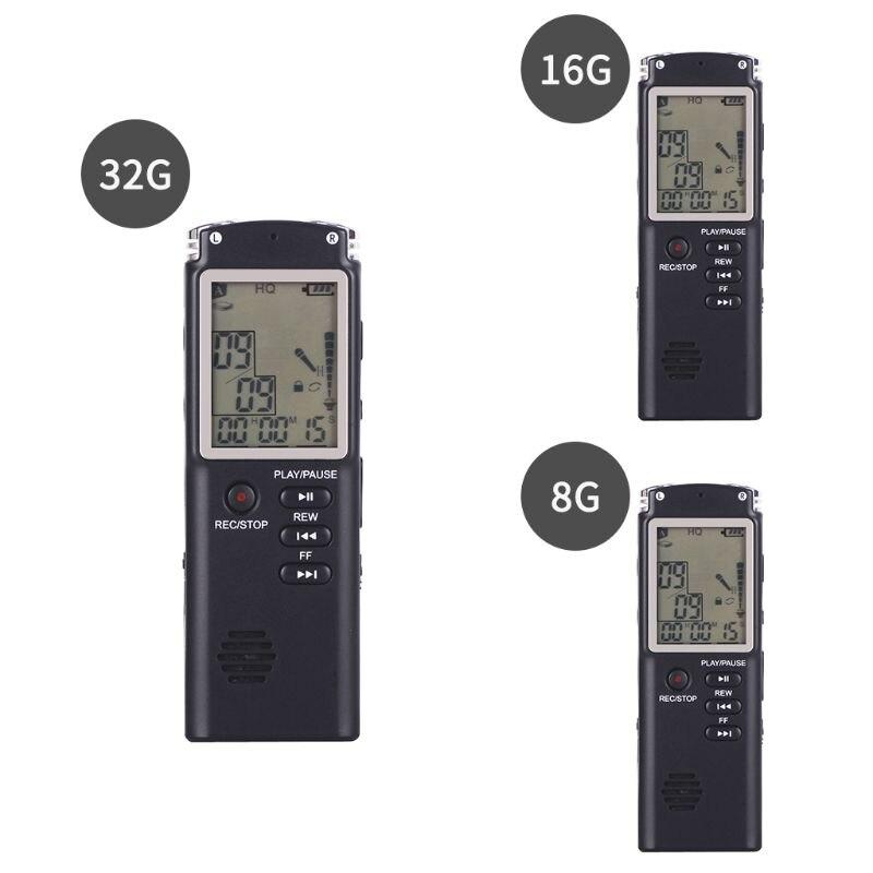 Unterhaltungselektronik Digital Voice Recorder Sinnvoll 8 Gb 16 Gb 32 Gb Wiederaufladbare Usb Digital Audio Sound Voice Recorder Pen Diktiergerät Mp3 Player Mit Var Usb-sprachaufzeichnungsanlage-diktaphon-mp3-player Vor Mikrofon Kopfhörer Modische Und Attraktive Pakete