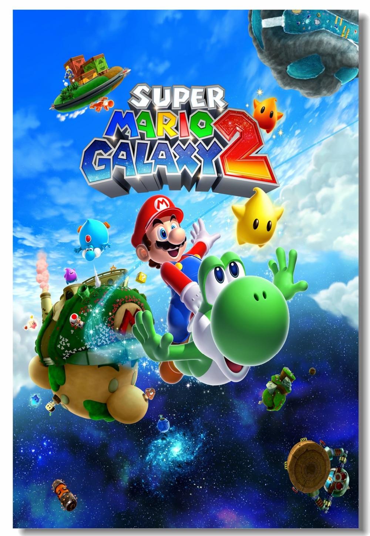 Custom Canvas Wall Decor Super Mario Bros 3 Poster Super Mario