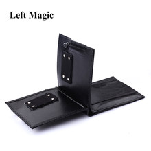Flame Wallet Magic Tricks Leather Wallet Magician Trick Stage Street Show Magic Props Funny Bifold Wallet Close-Up Magic Tools(China)