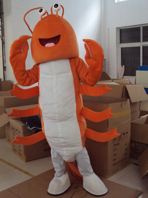 Shark Dolphin Mascot Costume Marine Animal Mascot Costumes Shrimp Mascot Costumes Halloween Party Outfit Adult Size