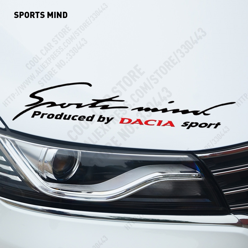 SPORTS MIND Car Covers Stickers Decal Car-Styling For renault dacia duster logan sandero lodgy car accessories